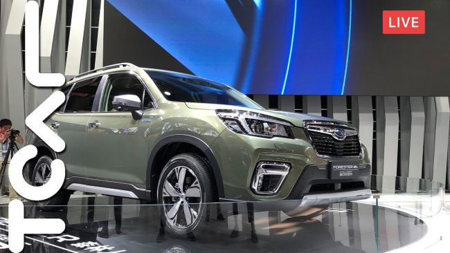 [2018 北京車展] All New Subaru Forester